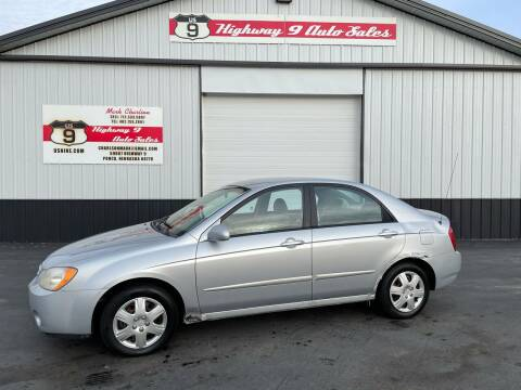 2004 Kia Spectra for sale at Highway 9 Auto Sales - Visit us at usnine.com in Ponca NE