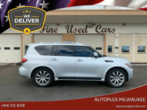 2012 Infiniti QX56 for sale at Autoplex Milwaukee in Milwaukee WI