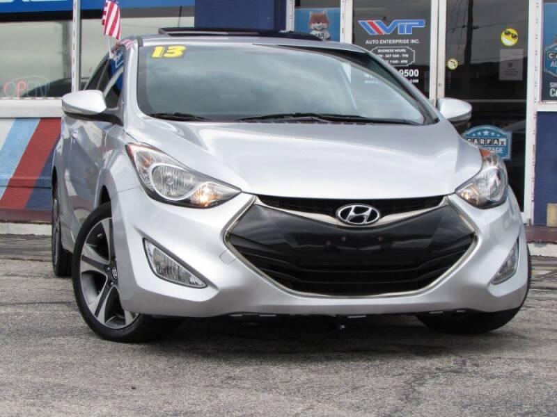 2013 Hyundai Elantra Coupe for sale at VIP AUTO ENTERPRISE INC. in Orlando FL