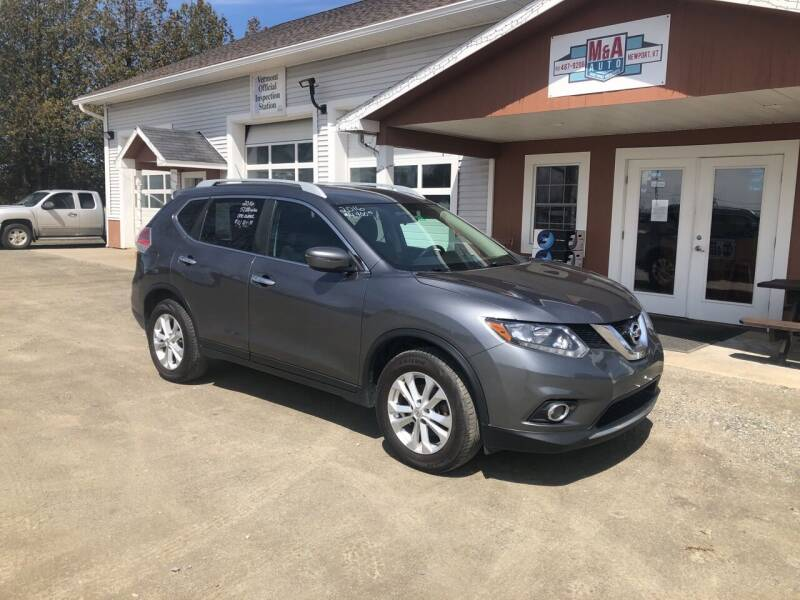 2016 Nissan Rogue for sale at M&A Auto in Newport VT