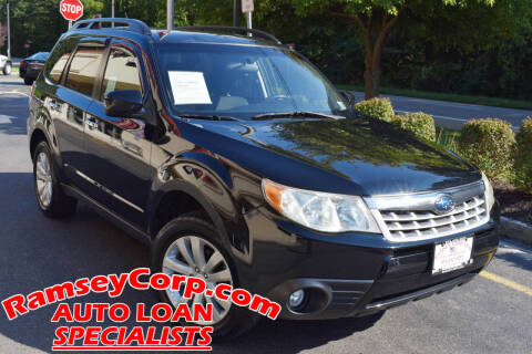 2011 Subaru Forester for sale at Ramsey Corp. in West Milford NJ