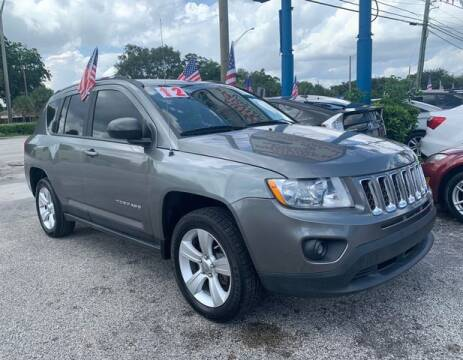 2012 Jeep Compass for sale at AUTO PROVIDER in Fort Lauderdale FL