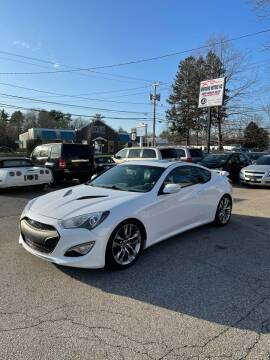 2013 Hyundai Genesis Coupe for sale at NEWFOUND MOTORS INC in Seabrook NH