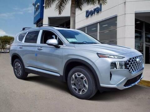 2021 Hyundai Santa Fe Hybrid for sale at DORAL HYUNDAI in Doral FL
