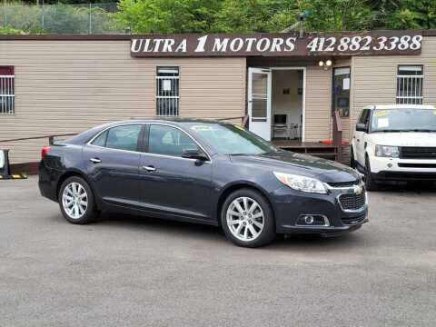2015 Chevrolet Malibu for sale at Ultra 1 Motors in Pittsburgh PA