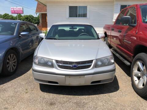 2000 Chevrolet Impala for sale at Holiday Auto Sales in Grand Rapids MI