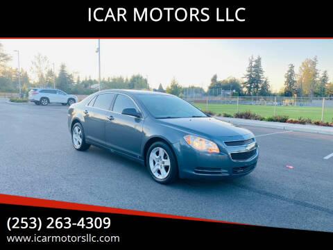 2009 Chevrolet Malibu for sale at ICAR MOTORS LLC in Federal Way WA