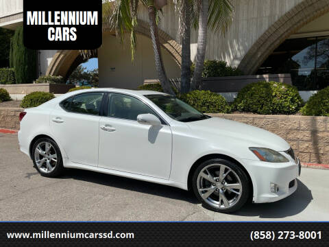 2009 Lexus IS 250 for sale at MILLENNIUM CARS in San Diego CA