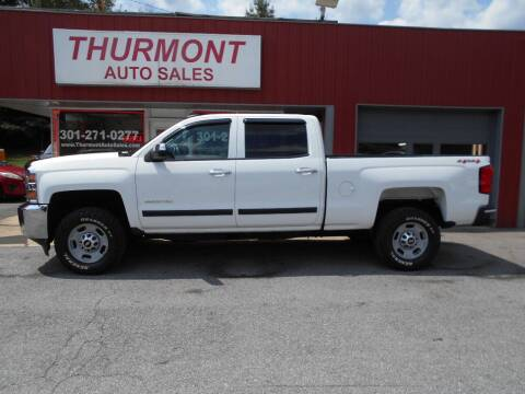 2015 Chevrolet Silverado 2500HD for sale at THURMONT AUTO SALES in Thurmont MD