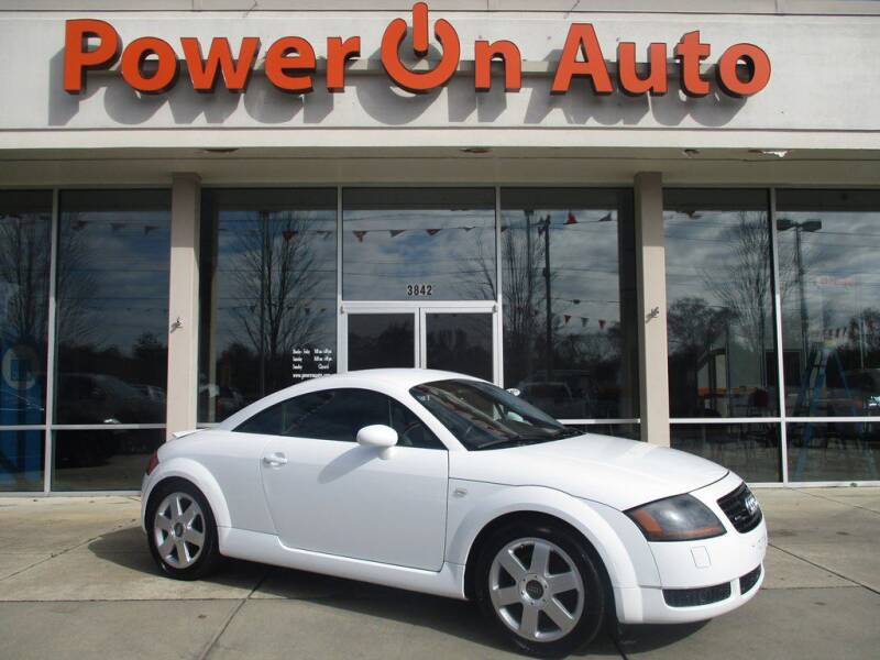 2002 Audi TT for sale at Power On Auto LLC in Monroe NC