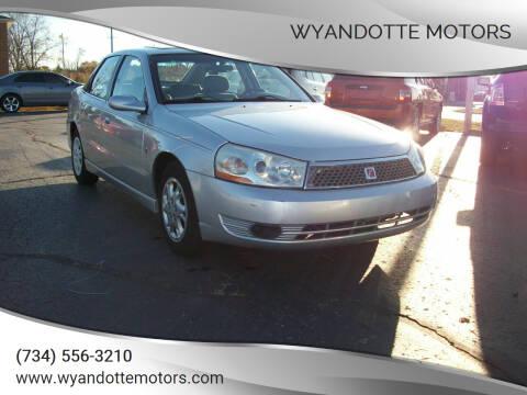 2004 Saturn L300 for sale at Wyandotte Motors in Wyandotte MI