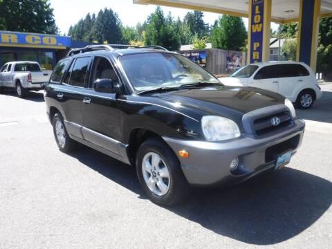 2006 Hyundai Santa Fe for sale at Brooks Motor Company, Inc in Milwaukie OR
