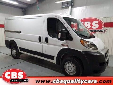 2019 RAM ProMaster Cargo for sale at CBS Quality Cars in Durham NC