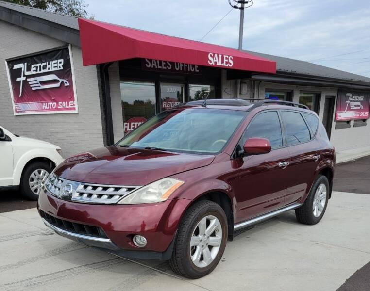 2007 Nissan Murano for sale at Fletcher Auto Sales in Augusta GA