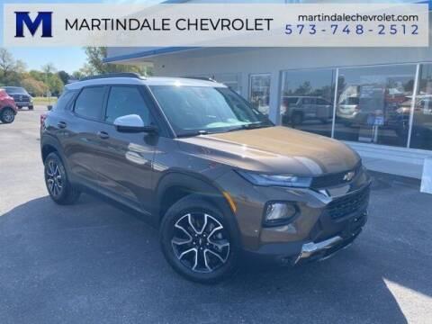 2021 Chevrolet TrailBlazer for sale at MARTINDALE CHEVROLET in New Madrid MO