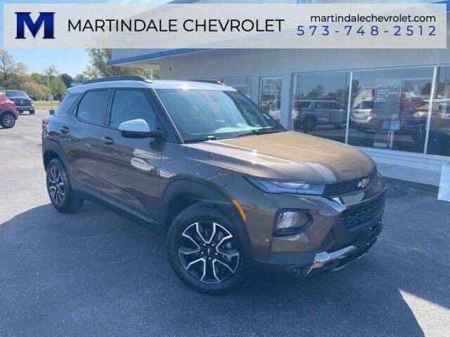 2021 Chevrolet TrailBlazer for sale at MARTINDALE CHEVROLET in New Madrid MO