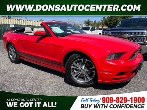 2014 Ford Mustang for sale at Dons Auto Center in Fontana CA