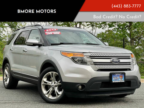 2013 Ford Explorer for sale at Bmore Motors in Baltimore MD