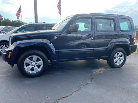 2012 Jeep Liberty for sale at Doug White's Auto Wholesale Mart in Newton NC