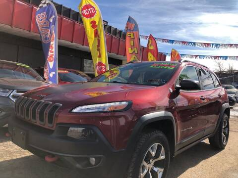2014 Jeep Cherokee for sale at Duke City Auto LLC in Gallup NM