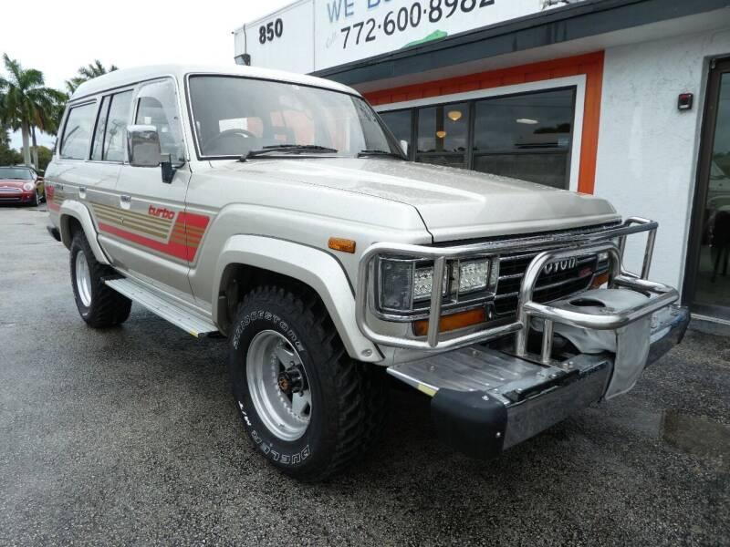 1987 Toyota Land Cruiser for sale in Stuart, FL