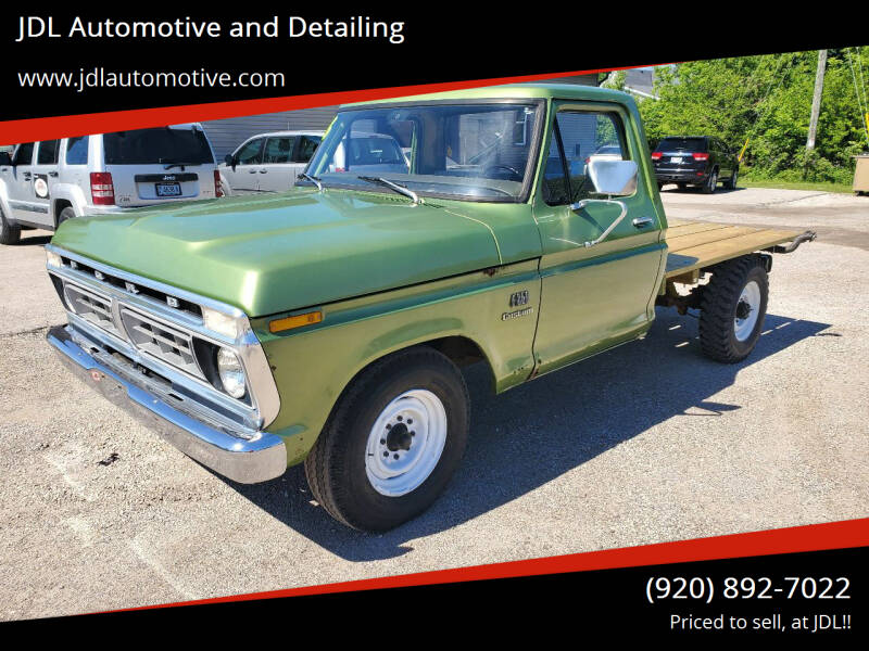 1976 Ford F-250 for sale at JDL Automotive and Detailing in Plymouth WI