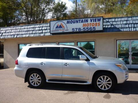 2010 Lexus LX 570 for sale at Mountain View Motors Inc in Colorado Springs CO