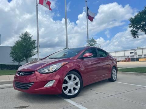 2012 Hyundai Elantra for sale at TWIN CITY MOTORS in Houston TX