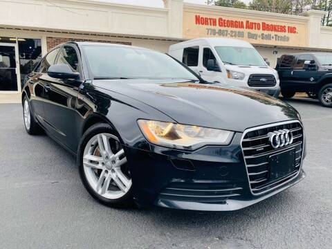 2012 Audi A6 for sale at North Georgia Auto Brokers in Snellville GA