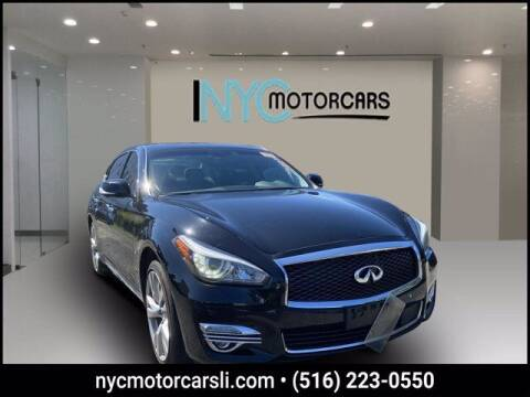 2016 Infiniti Q70L for sale at NYC Motorcars in Freeport NY