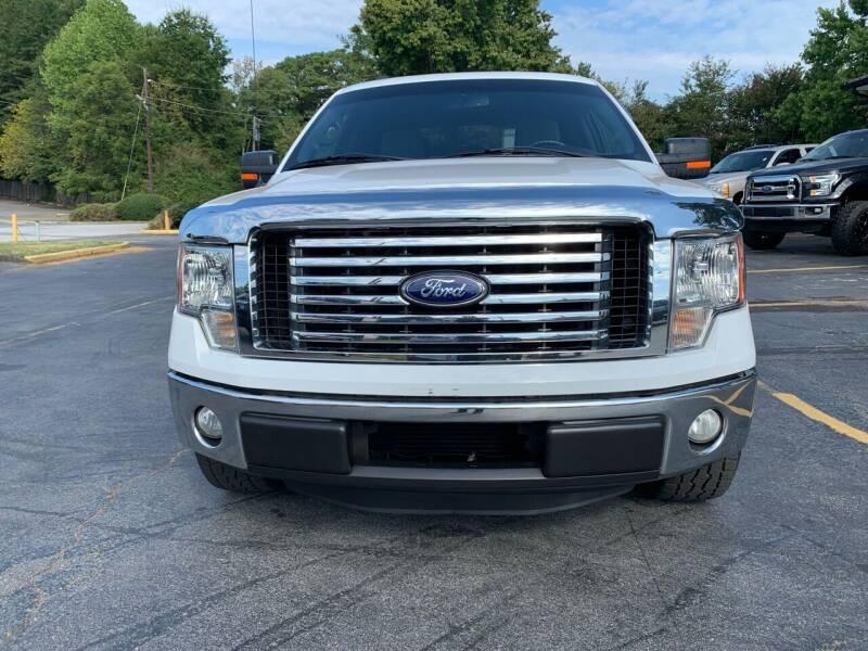 2012 Ford F-150 for sale at Peach Auto Sales in Smyrna GA