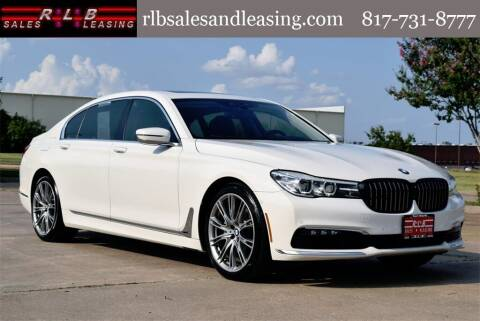 2017 BMW 7 Series for sale at RLB Sales and Leasing in Fort Worth TX