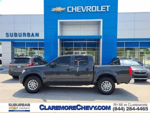 2014 Nissan Frontier for sale at Suburban Chevrolet in Claremore OK