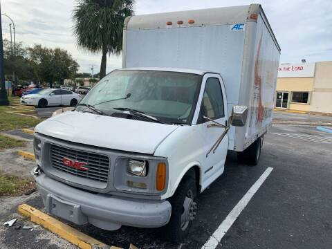 1997 GMC Savana for sale at Eden Cars Inc in Hollywood FL