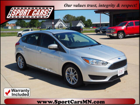 2016 Ford Focus for sale at SPORT CARS in Norwood MN