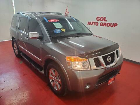2014 Nissan Armada for sale at GOL Auto Group in Austin TX