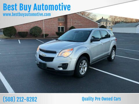 2012 Chevrolet Equinox for sale at Best Buy Automotive in Attleboro MA