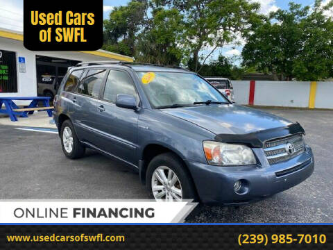 2007 Toyota Highlander Hybrid for sale at Used Cars of SWFL in Fort Myers FL