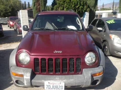 2003 Jeep Liberty for sale at AJ'S Auto Sale Inc in San Bernardino CA