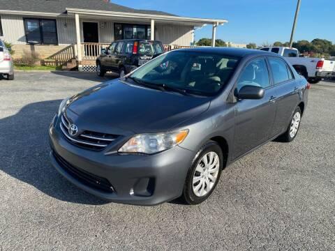 2013 Toyota Corolla for sale at Triple A's Motors in Greensboro NC