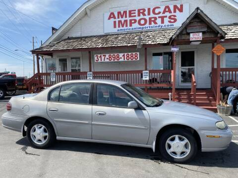 1998 Oldsmobile Cutlass for sale at American Imports INC in Indianapolis IN