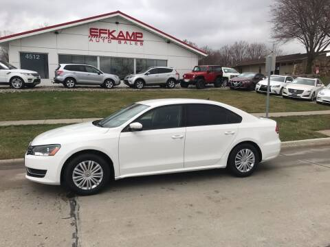 2014 Volkswagen Passat for sale at Efkamp Auto Sales LLC in Des Moines IA