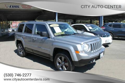 2016 Jeep Patriot for sale at City Auto Center in Davis CA