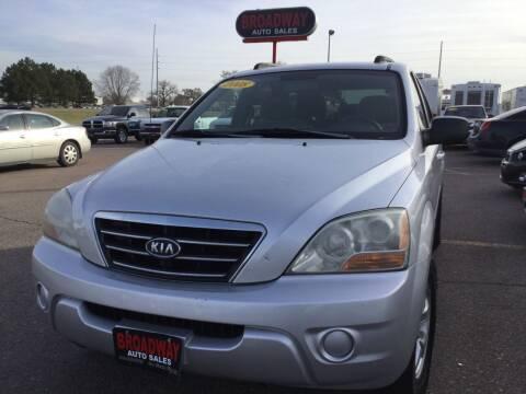 2008 Kia Sorento for sale at Broadway Auto Sales in South Sioux City NE