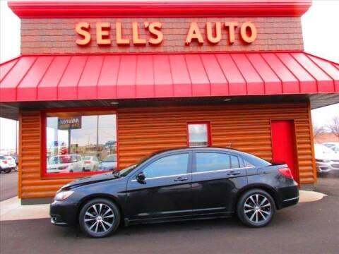 2012 Chrysler 200 for sale at Sells Auto INC in Saint Cloud MN