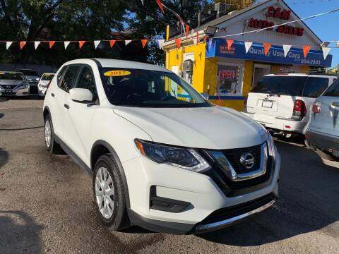 2017 Nissan Rogue for sale at C & M Auto Sales in Detroit MI