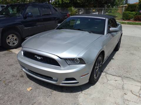 2014 Ford Mustang for sale at LAND & SEA BROKERS INC in Pompano Beach FL