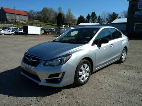 2015 Subaru Impreza for sale at G & H Automotive in Mount Pleasant PA