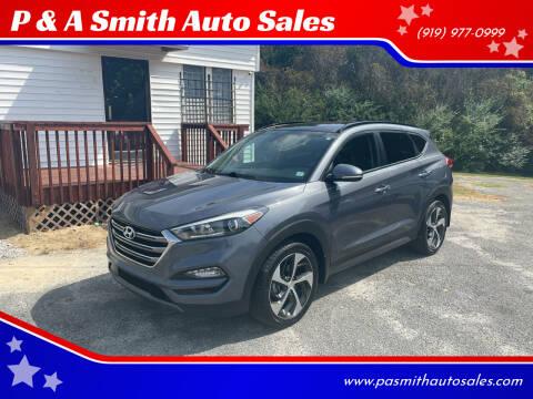 2016 Hyundai Tucson for sale at P & A Smith Auto Sales in Garner NC