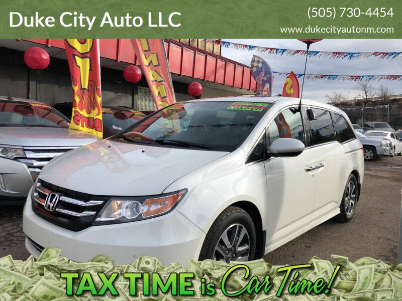 2016 Honda Odyssey for sale at Duke City Auto LLC in Gallup NM
